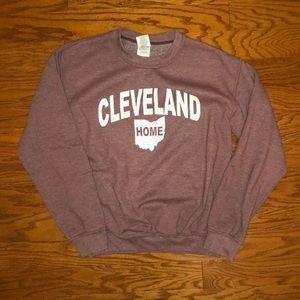 Cleveland crew neck